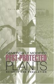 Cover of: Genetically Modified Pest-Protected Plants | National Research Council.