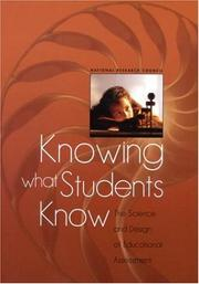 Cover of: Knowing What Students Know by National Research Council.