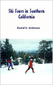 Cover of: Ski Tours in Southern California | Daniel E Anderson