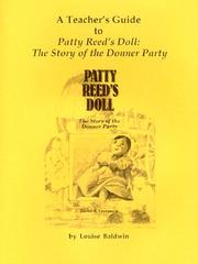 Cover of: A Teacher's Guide to 'Patty Reed's Doll | Louise Baldwin