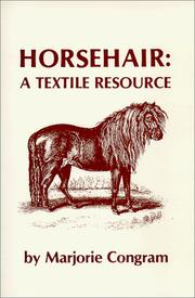 Cover of: Horsehair by Marjorie Congram