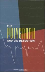 Cover of: The Polygraph and Lie Detection | National Research Council.