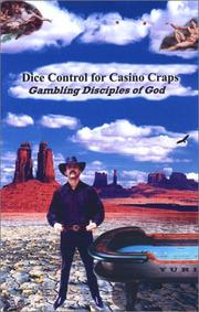 Cover of: Dice Control for Casino Craps | Yuri Kononenko
