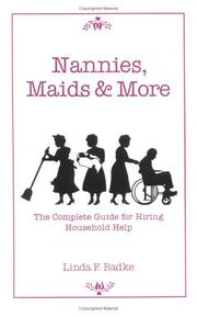 Cover of: Nannies, maids & more | Linda F. Radke