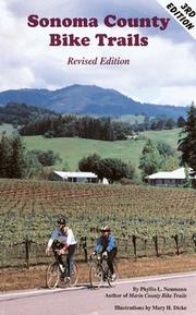 Cover of: Sonoma County Bike Trails by Phyllis L. Neumann