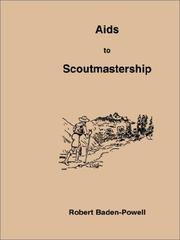 Cover of: Aids to Scoutmastership | Robert Stephenson Smyth Baden-Powell, Baron Baden-Powell of Gilwell
