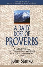 Cover of: A Daily Dose of Proverbs | John Stanko