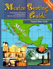 Cover of: Mexico Boating Guide | Rains