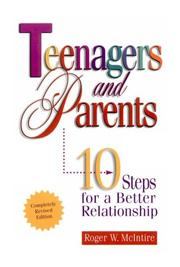 Cover of: Teenagers & Parents by Roger McIntire