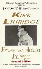 Cover of: Professional Archery Technique by Kirk Ethridge