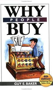 Cover of: Why People Buy | Guy Baker