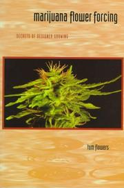 Cover of: Marijuana Flower Forcing by Tom Flowers