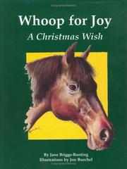 Cover of: Whoop for Joy by Jane-Briggs Bunting