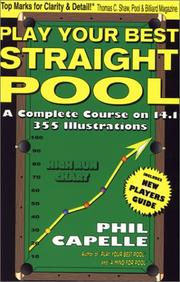 Cover of: Play Your Best Straight Pool by Philip B. Capelle