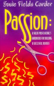 Cover of: Passion | Susie Field Carder