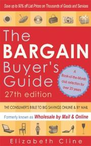 Cover of: The Bargain Buyer's Guide | Elizabeth Cline