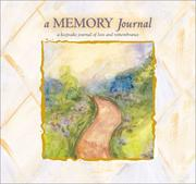 Cover of: A Memory Journal by Marianne R. Richmond