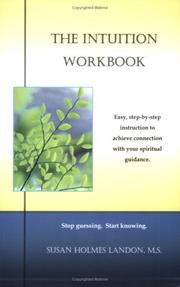 Cover of: The Intuition Workbook | Susan Landon M.S.