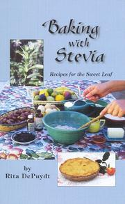 Cover of: Baking With Stevia | Rita E. Depuydt