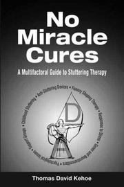 Cover of: No Miracle Cures | Thomas David Kehoe