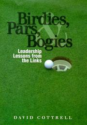 Cover of: Birdies, Pars, and Bogies | David Cottnell