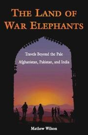 Cover of: The Land of War Elephants by Mathew Wilson