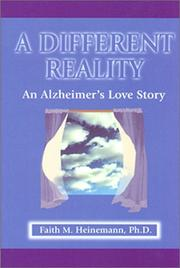 Cover of: A different reality | Faith M. Heinemann