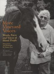 Cover of: More Vineyard Voices by Linsey Lee