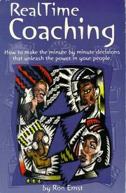 Cover of: RealTime Coaching | Ron Ernst