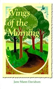 Cover of: Wings of the morning | Jane Mann Davidson