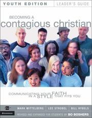 Cover of: Becoming a Contagious Christian Youth Edition Leader's Guide | Lee Strobel