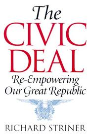 Cover of: The civic deal | Richard Striner