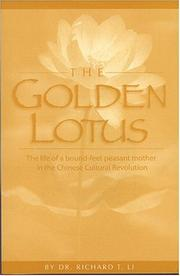 Cover of: The Golden Lotus by Richard T. Li