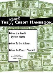 Cover of: The Insider Credit Handbook by Howard Lewis Russell