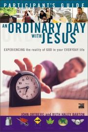 Cover of: An Ordinary Day with Jesus (Participant's Guide) | John Ortberg