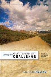 Cover of: Taking the Old Testament Challenge | John Ortberg