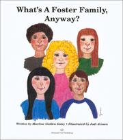 Cover of: What's A Foster Family, Anyway? | Martine Golden Inlay