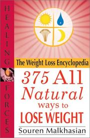 Cover of: The Weight loss encyclopedia | Souren Malkhasian