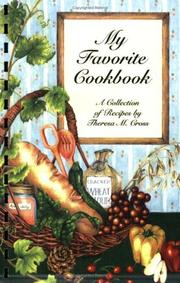 Cover of: My Favorite Cookbook by Theresa M. Cross