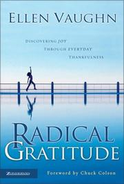 Cover of: Radical gratitude | Ellen Santilli Vaughn