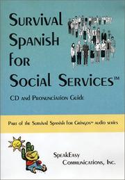Cover of: Survival Spanish for Social Services | Myelitia Melton