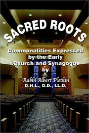 Cover of: Sacred Roots | Albert Plotkin