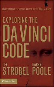 Cover of: Exploring the Da Vinci code | Lee Strobel