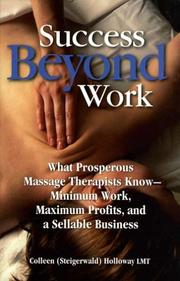 Cover of: Success Beyond Work | Colleen Holloway