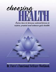 Cover of: Choosing Health | Mark Force