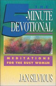 Cover of: Five-Minute Devotional, The | Ms. Jan Silvious