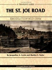 Cover of: The St. Joe Road | Jacqueline A. Lewin; Marilyn S. Taylor