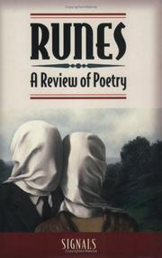 Cover of: RUNES, A Review of Poetry | CB Follett; Susan Terris