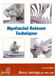 Cover of: Myofascial Release | Barry G Jenings