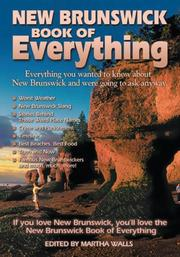 Cover of: New Brunswick Book of Everything | Martha Walls